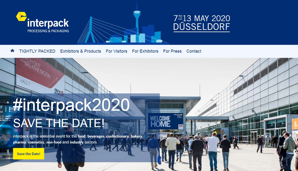 Exposición Alemania Interpack 2020