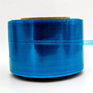 Cinta de sellado de bolsa de mensajero de película azul